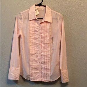 Old Navy light pink button down shirt